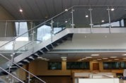 Stainless Steel Staircase & Handrail