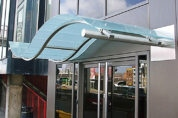 Curved Stainless Steel and Glass Birmingham