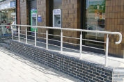 Stainless Steel Wall Handrail