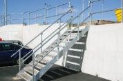 Galvanized Stairs & Handrail